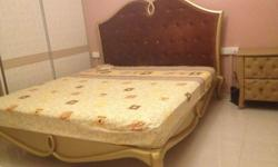 A uniquely designed super king sized bed ( 2 x 2.1 ) in