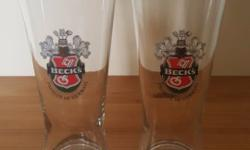 Beck�s Beer Glass 350 ml (Set of 2 pieces) Dimensions: