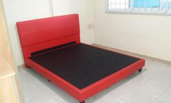 Bed frame queen size (used) Condition : 8/10 Price :
