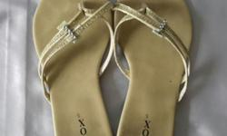 Ladies Beige Sandals. Size 5 or about 36. Usual wear