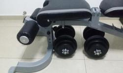 Incline Decline Flat Gym Bench (force usa f-fid)