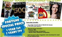 Fortune Magazine Special Offer for 1 week Only 1