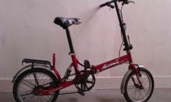 ONE used Adult size Foldable Bicycle Aloeca Foraggio2