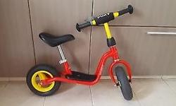 Almost new Puky brand bicycle for toddlers. Best