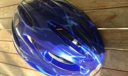 Blue cycling helmet for kids XS for 3-4 years old kids
