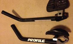 In good condition Profile Aero Bars, what you see in
