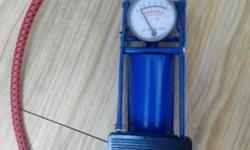 New bicycle pump for sale. Reason of sale is because of