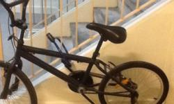 Very new hardly used BMX bicycle