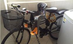 BICYLE WITH BABY AND BACK SEAT - RENOVATION SALE (PRICE