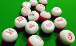It consists of 16 Tally balls in a set. 17mm in