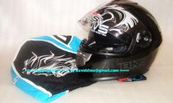 ~~~ BKS STeaLTH SeRies DuaL ViSoR FuLL FaCe HeLMeT $168