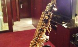 A beautiful black Alto Saxophone that i bought last