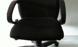 Used Black Armchair - $25 Still in good condition Cash