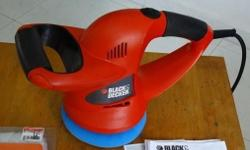 BLACK&DECKER RANDOM WAXER/POLISHER - KP600-B1 152MM 1.