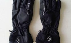 Black Diamond Glove comes with removable inner liner