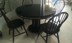 Moving out - Self collection 4 seater round dining