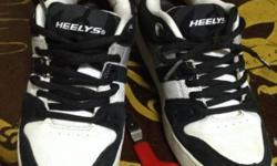 Used Heely without the wheels. Size :US 8