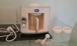 Steamer+blender 2in 1 new ,with recipe book for baby's