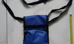 Brand new blue Sling bag. All together with 3 pocket