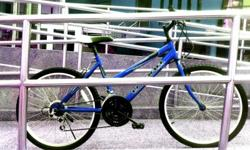 Blue Utara Bike - Male / Female, Rider Height 155 - 165