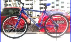 Blue Utara Bike - Male / Female, Rider Height 162 - 175