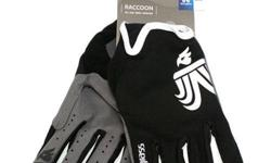 Bluegrass Raccoon Full Glove Black/White S$42 (For