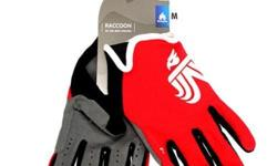 Bluegrass Raccoon Full Glove White/Red S$42 (For direct