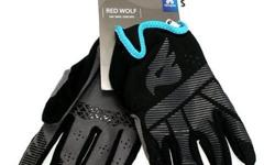 Bluegrass Red Wolf Full Glove Black/Cyan S$49 (For