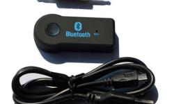 Bluetooth Audio Receiver (rechargeable) for amps,