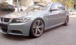 Elite and Executive Blue Silver Lightning BMW 320i
