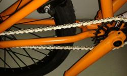 New Orange BMX MIRRACO�.Bought for my teenager but he