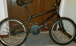 Selling a DIY bmx bike without brakes. Most of the