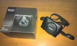 hardly use, BN sony camera,free casing,bought for $990