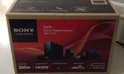 BN in box HDMI sony dvd home theatre