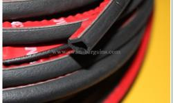 BN Universal Big D Rubber Seal Sound Proof Insulation |