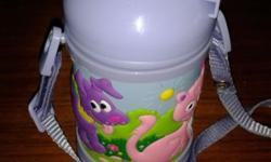 NEW Purple color water bottle for children.. Nice