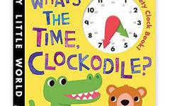 Learn to tell time with �Clockodile�! Children can