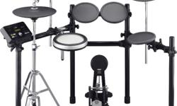 BN Yamaha DTX532K Electronic Drum Set with drum stool +