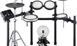 BN Yamaha DTX582K Electronic Drum Set + drum stool +