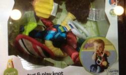 BNIB- LAMAZE Tug & Play Knot (0+ mth). Current RP
