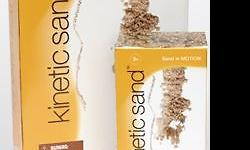 Kinetic Sand is a revolutionary Easy-to-Shape sand that