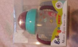 BNIB~ Farlin non~spill magic cup soft straw (9+mth)