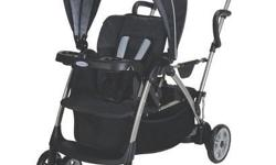 Features Holds 2 children up to 50lbs each Child can