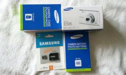 BNIB, comes with camera case, 8gb micro sd card, 2