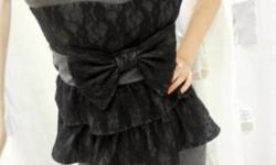 BNIP Plus Size Dark Gray Sweetheart Bustier Cupcake