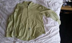 Nice 100% cotton gently used shirt. Perfect for an