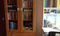 Moving Sale !!! Book Shelves Cabinet - Almost New !
