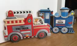 - On the road with Postman Pat - $12 - Fireman Sam -