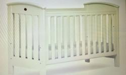 "We are selling a White Boori ""Classic Cot Bed"" a"