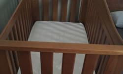 Boori Classic Cot which converts to a toddler bed.